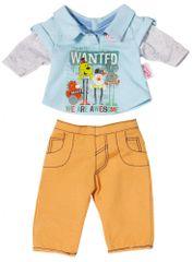 BABY born Oblečenie na chlapčeka, béžové nohavice