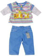 BABY born Oblečení na chlapečka, modré kalhoty