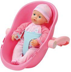 BABY born Super Soft lalka z przenośnym fotelikiem