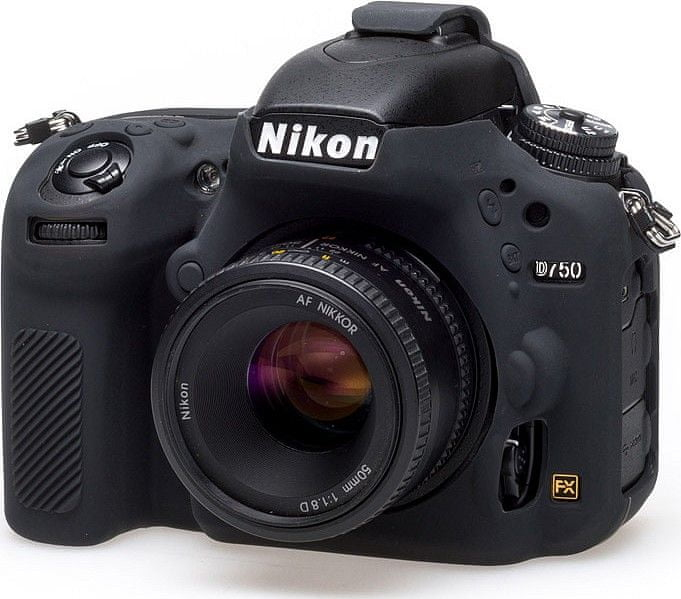 Easycover Reflex Silic Nikon D750 Black