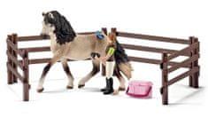 Schleich Starostlivosť o koňa Andalusianského