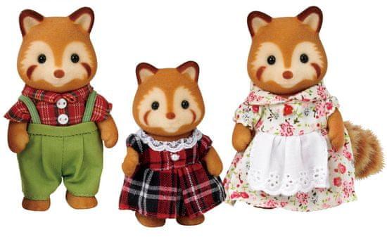 Sylvanian Families Vörös panda család