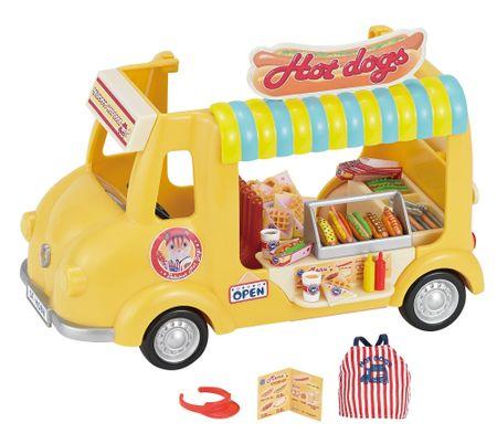 Sylvanian Families Pojazdný obchod s Hot dogmi