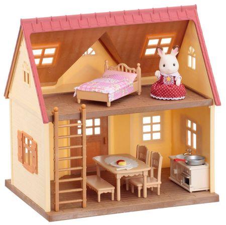Sylvanian Families Základný poschodový dom s príslušenstvom verzia 2016