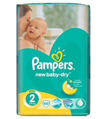 Pampers Pieluchy New Baby Dry 2 Mini (66 szt.)