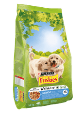 Friskies Junior kutyatáp 15kg
