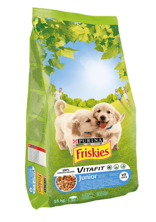 Friskies Junior kutyatáp - 15kg