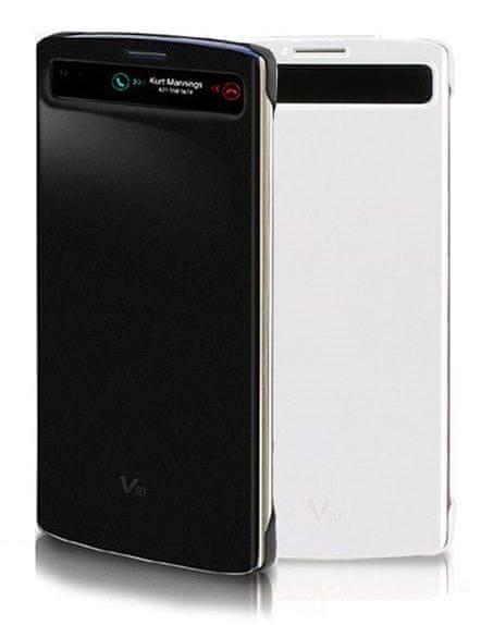 LG flipové pouzdro CFV-140, LG V10, černé