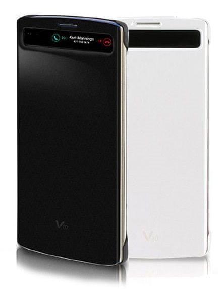 LG flipové pouzdro CFV-140, LG V10, bílé
