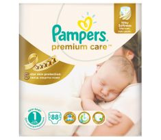 Pampers Pieluchy Premium Care 1 Newborn (88 szt.)