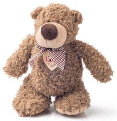 Lumpin Medveď Denis s mašľou, malý