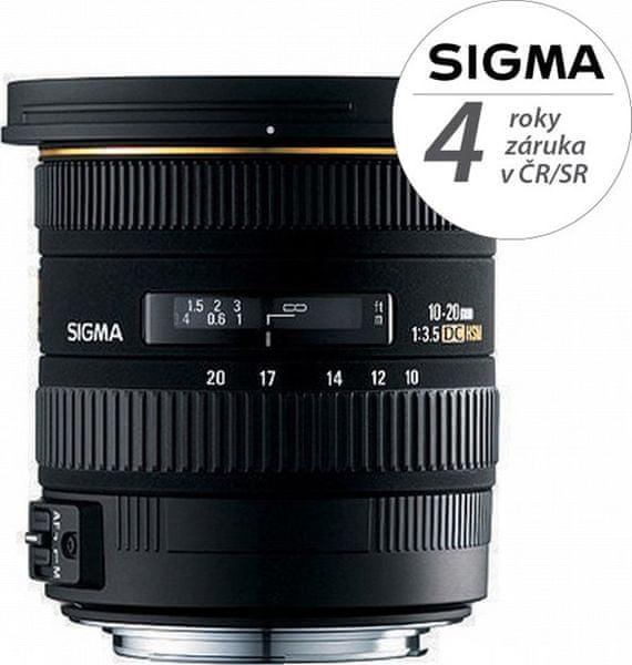 Sigma 10-20 mm F3,5 EX DC OS HSM pro Nikon (4 roky záruka)