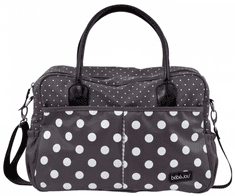Bebe-jou torba za previjanje Luxury Bag Grey Dots