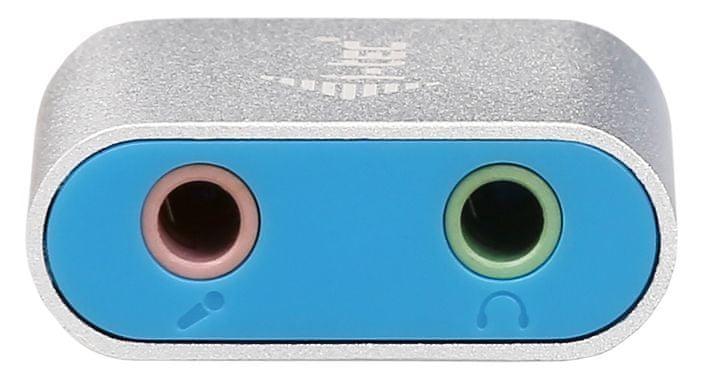 I-TEC USB 2.0 Metal Mini Audio Adapter