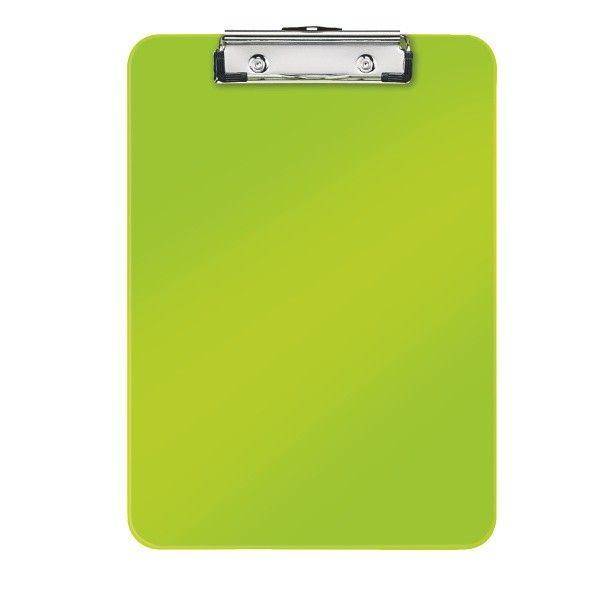 Podložka na psaní Leitz WOW metalicky zelená