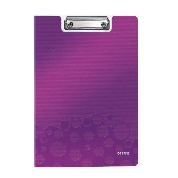 Podložka na psaní se zakrývací deskou Leitz WOW purpurová