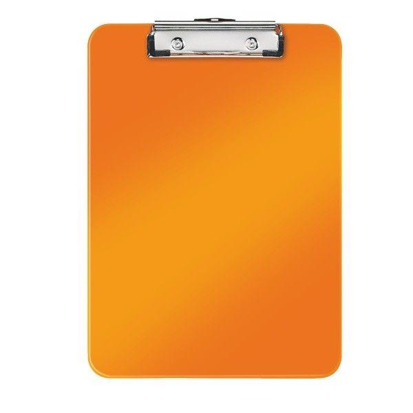 Podložka na psaní Leitz WOW metalicky oranžová