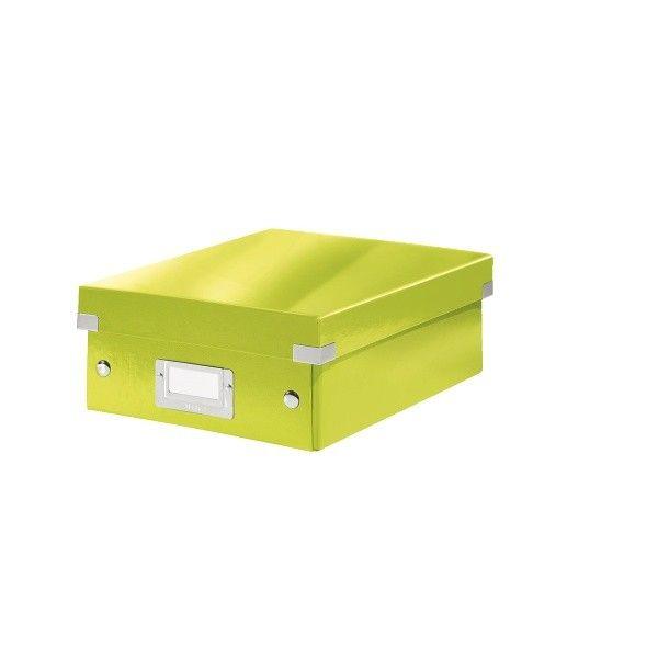 Krabice CLICK-N-STORE WOW malá organizační, zelená