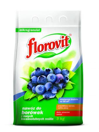 Florovit nawóz do borówek oraz roślin kwaśnolubnych