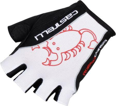 Castelli Rosso Corsa Classic Glove White/Black XL