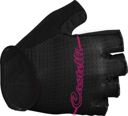 Castelli Dolcissima Biciklis kesztyű, Fekete, S
