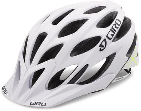 Giro Phase Mat Bukósisak, Fehér-zöld, 51-55 cm