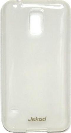 Jekod silikonski ovitek za Samsung Galaxy S5 G900 prozoren TPU/T + Zaščitna folija