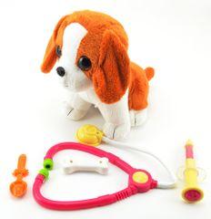 Teddies Interaktívny chorý pes