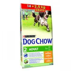 Purina Dog Chow Adult Chicken 14 + 2,5 kg Zadarmo
