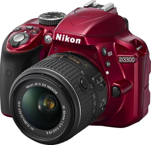 Nikon D3300 + 18-55 AF-P VR Red