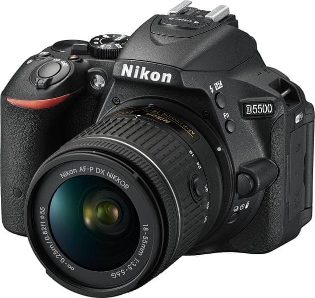 Nikon D5500 + 18-55 AF-P VR Black