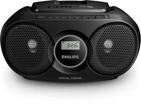 Philips radioodtwarzacz AZ215B, czarny