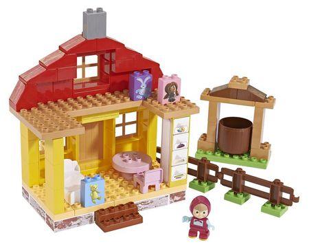 BIG Mása és a medve - Mása házikója építőjáték