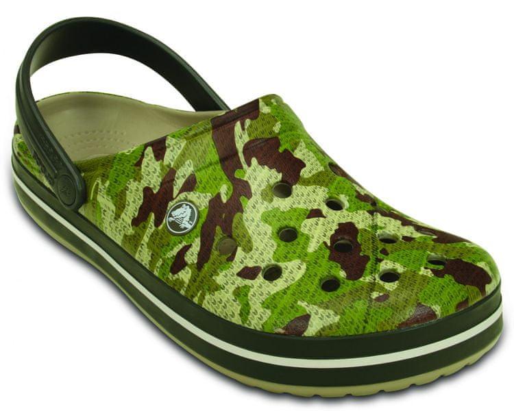 Crocs Crocband Camo Clog Dusty Olive 46-47 (M12)