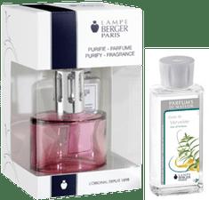 Lampe Berger Dárková sada Oválie růžová + parfém