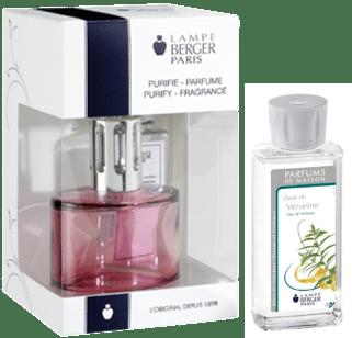 Lampe Berger Darčeková sada Ovál ružová + parfum