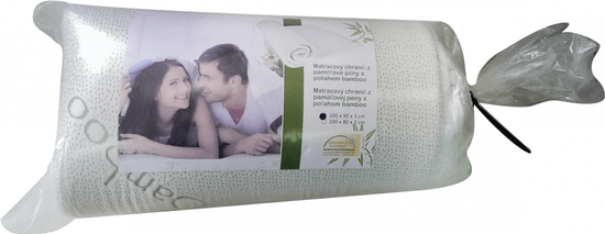 Viscopur Vrchní matrace bamboo
