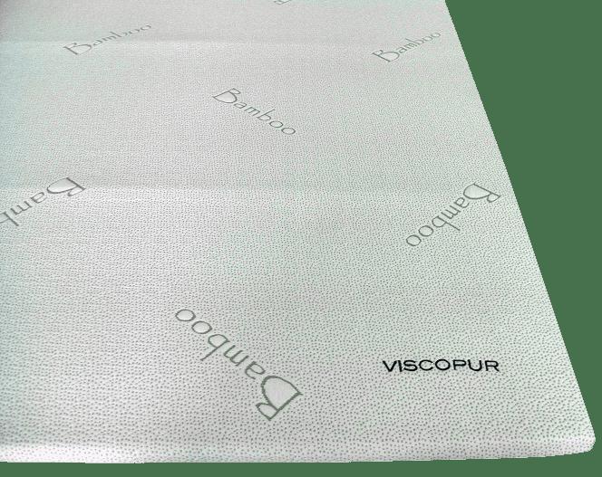 Viscopur Vrchní matrace bamboo 160 x 200 cm