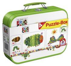 Schmidt Puzzle v plechovom kufríku