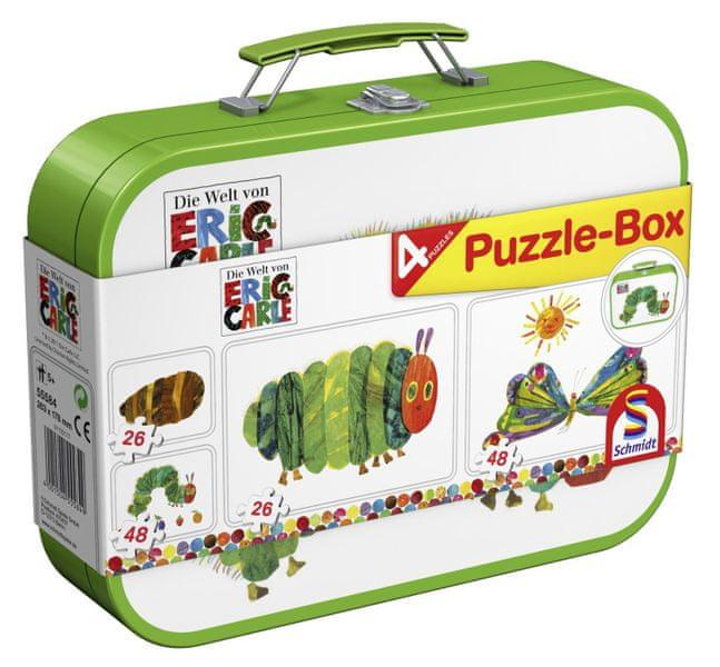 Schmidt Puzzle v plechovém kufříku