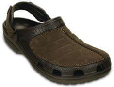 Crocs natikači Yukon Mesa Clog, moški, rjavi