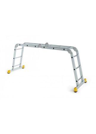 Aloss AL zložljiva lestev 4x3 Eurostyl Hobby (IT4410)