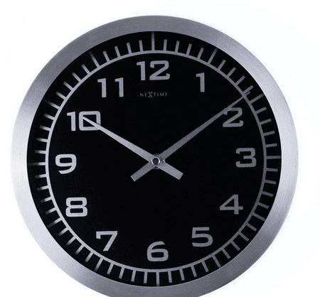 NEXTIME stenska ura, premer 25 cm