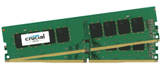 Crucial pomnilnik 16 GB KIT (8GBx2) DDR4 2400 CL17 1.2V DIMM Single Ranked