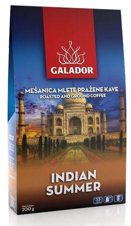 Galador Indian Summer mleta kava, 3 x 200 g