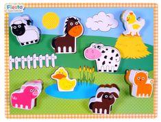 Fiesta Crafts Vkladačka - Farma