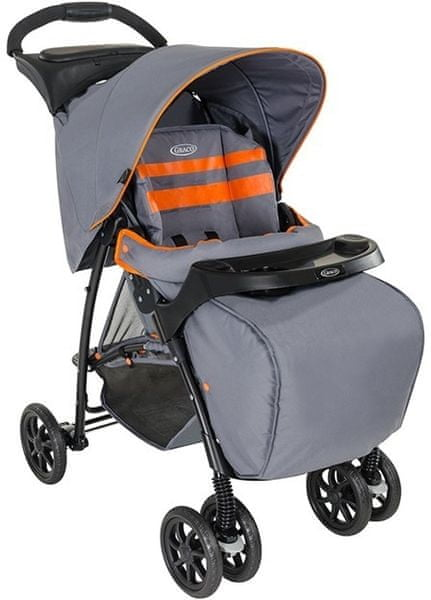 Graco Kočárek Mirage+, Neon Gray 2016