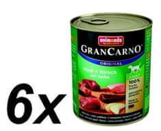 Animonda Grancarmo Adult - jelenie mäso + jablká 6 x 800g