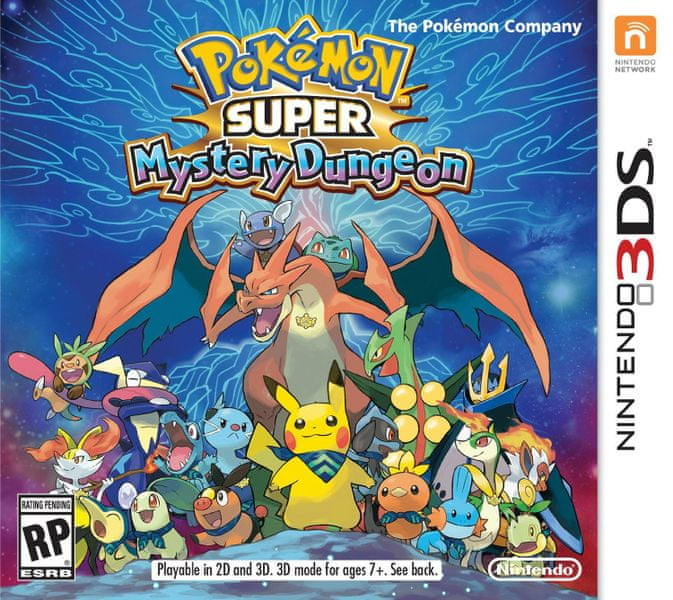 Nintendo 3DS Pokémon Super Mystery Dungeon