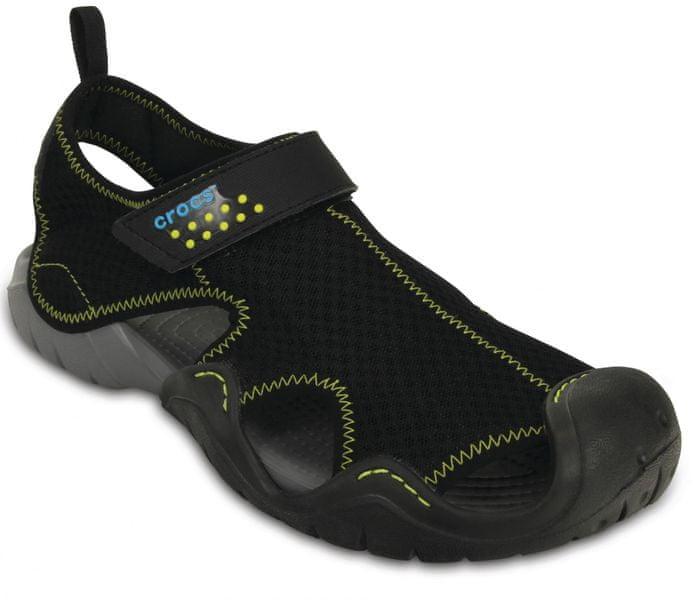 Crocs Swiftwater Sandal M Black/Charcoal 43-44 (M10)